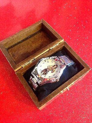 Sailor Jerry Watch And Box Tattoo/rockabilly. Free Postage