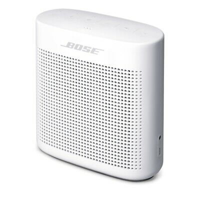 Bose SoundLink Color Bluetooth Speaker II 8 Hours Play Time Rechargeable White