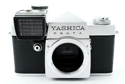 """Rare""[Near Mint] Yashica Penta J SLR Film Camera w/Exposure meter From Japan"
