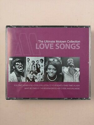 The Ultimate Motown Collection-Love Songs - Various Artists (CD 2004)