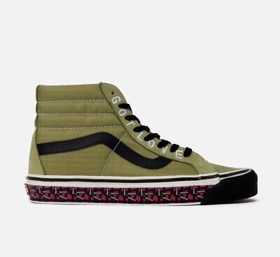 PATTA X VANS SK8 HI 38 ReIssue Orange Size UK8.5 US9.5 EU42
