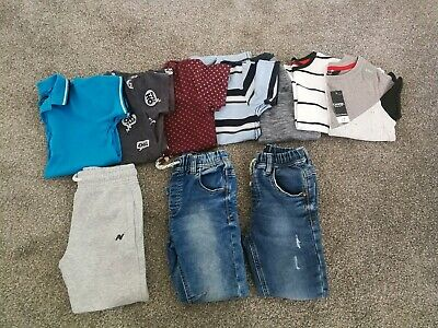 Boys NEXT Clothes Bundle Aged 4-5 Years