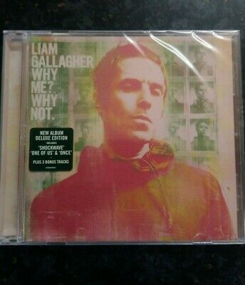 Liam Gallagher Why Me? Why Not Deluxe Edition CD ALBUM ** BRAND NEW/SEALED **
