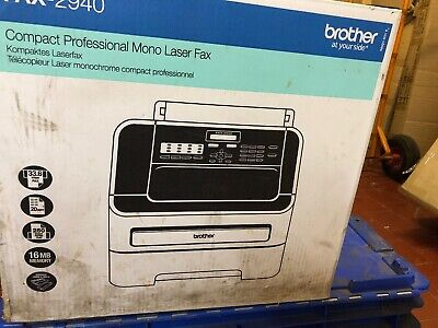 Brother FAX-2940 High Speed Mono Laser Fax Machine . Brand New In Box.