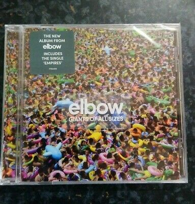 Elbow Cd Album -Giants Of All Sizes. ** Brand New And Sealed **
