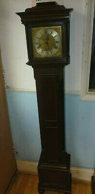 Antique 17th Cent Style Westminster Chime Granddaughter Clock Full Working Order