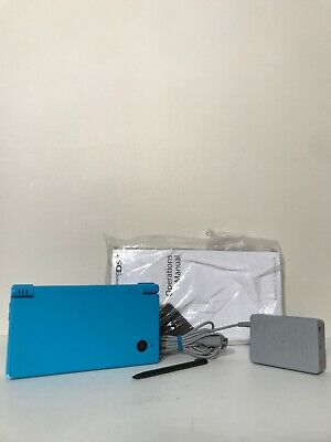 Nintendo DSi Handheld System Blue Console Bundle Charger Manual Stylus