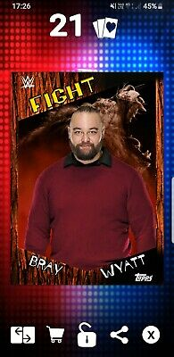 Topps WWE Slam Digital Card Fiend Bray Wyatt Fight Award 2019