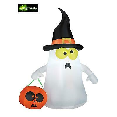 4 Ft Halloween Lighting Inflatable Ghost Outdoor Lighted Decoration Yard Decor