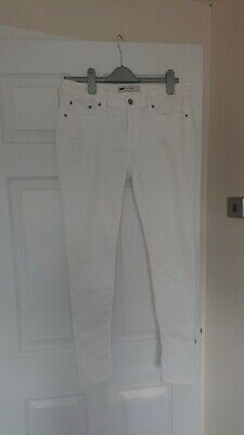 Ladies White Levis Jeans River Island Zara Topshop New Look Trousers