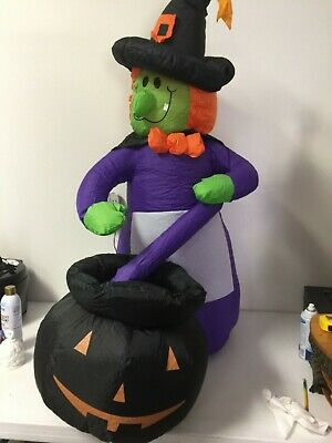 Airblown Halloween 4ft. Witch Inflatable