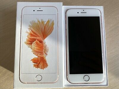 Apple iPhone 6s - 64GB - Rose Gold (Unlocked) Excellent Condition