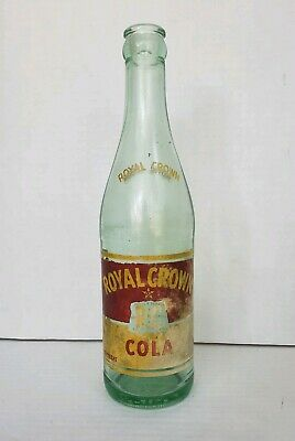 Vintage Royal Crown RC Cola Duraglas 12 oz Bottle Ravenna Ohio * Free Shipping