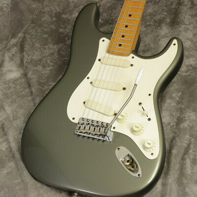 Used Fender Usa Eric Clapton Stratocaster Pewter Freeshipping *Yajz1506