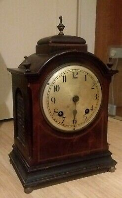 A Good Quality Antique 19Th Century Bracket Clock