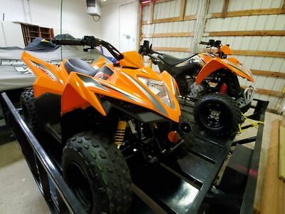 Brand New Quads And Trailer