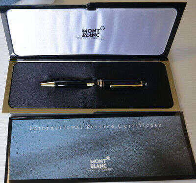 Montblanc Meisterstuck 164 Ballpoint Pen, Black and Gold, 180607-5