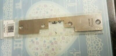 Assa Abloy / Trimec electric strike long S/S Face Plate