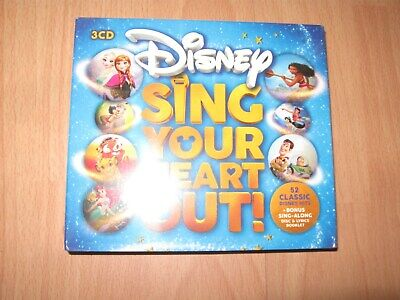 Disney Sing Your Heart Out CD - Brand New & Sealed