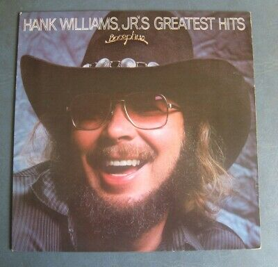 Hank Williams, Jr--Greatest Hits--1982 Vinyl LP--Original Inner Sleeve