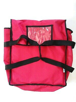 Pizza Delivery Bag Insulated Food Carrier Holds 3 Pizzas
