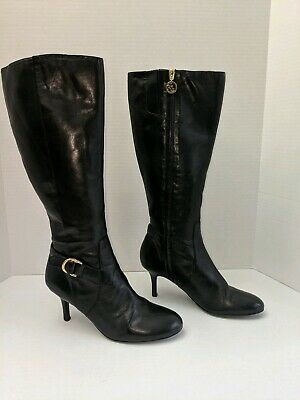Woman's Ralph Lauren  Knee High high heels boots Size 9.5