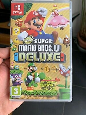 New Super Mario Bros U Deluxe Switch Neuf
