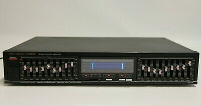 Vintage Fisher EQ-875 Stereo Graphic Equalizer