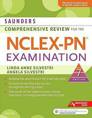 saunders comprehensive review for the nclex-pn® examination 7th edition [P.D.F]