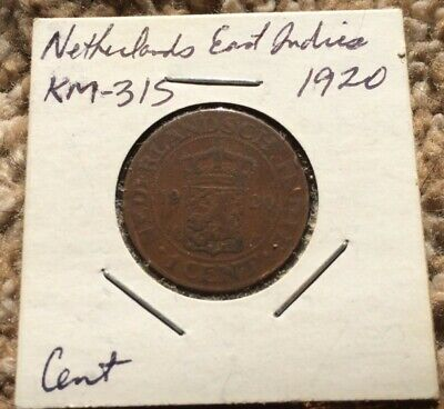 NETHERLANDS EAST INDIES 1 CENT 1920 coin