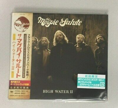 "THE MAGPIE SALUTE ""HIGH WATER II"" JAPAN CD +2 Bonus Tracks *SEALED*"