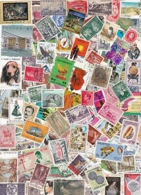 World Kiloware Mixture Off Paper From Collections 1000+ Stamps Great Variety #34