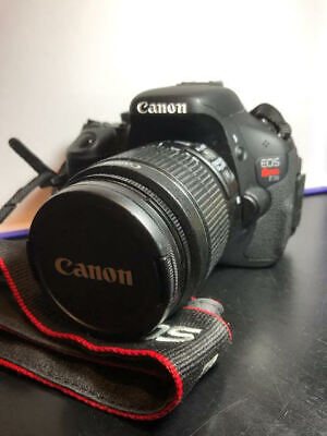 Canon EOS Rebel T3i / EOS 600D 18.0MP DSLR Camera w/18-55mm and 75-300mm Lenses