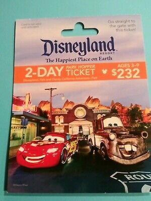"""Disney collectible gift cards"""" Lightning McQueen & Mater """" New. No Value No..."""
