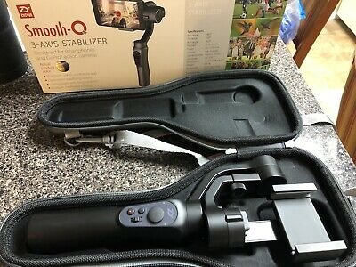 Zhiyun Smooth-Q 3-Axis Handheld Gimbal Stabilizer for Smartphone (pre-owned)