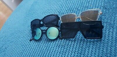 Girl Woman Sunglasses Bundle Black Frames Monsoon And More