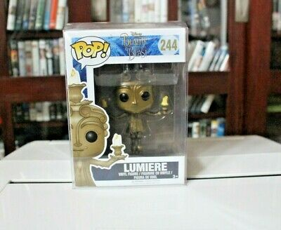 Disney Beauty And The Beast (Lumiere) Funko Pop #244 Vinyl Figure