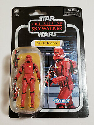 NEW 2019 Star Wars The Rise of Skywalker Red SITH JET TROOPER Vintage Collection