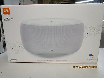 JBL Link 500 Voice Activated Wireless Bluetooth Speaker (WHITE) lowest price