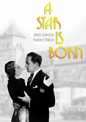 A Star Is Born - Original 1937 film - DVD staring Janet Gaynor and Fredric March
