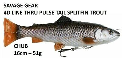 SAVAGE GEAR 4D Line Thru Trout 25cm 193g MS Rainbow Trout by TACKLE-DEALS !!!