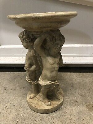 Roman Fountain Candleholder Pedestal Plant Stand Soapdish