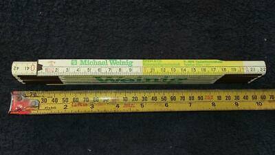 Vintage Stabila-Weinig Folding Ruler,.tools,workshop,garage,workshop,garage