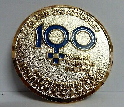 NSW Police College Graduation Class 326 Challenge Soft enamel Coin