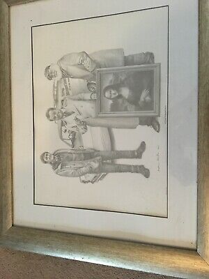 Only Fools And Horses Drawing By Artist Johnathan Roberts Printed