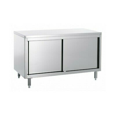 Table Work Cabinet Steel without Tier - Width 180 CM