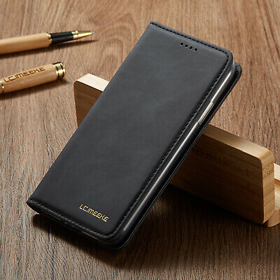 For Samsung S10 A10 A40 A51 S20 S9 Leather Flip Wallet Case Card Stand Cover
