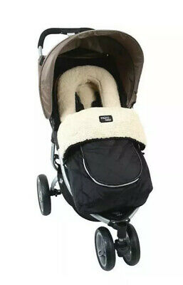 1 Valco Baby Deluxe Footmuff / Pram liner - Universal Fit - For All Seasons $129