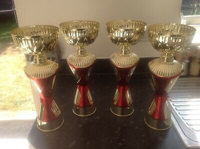 Gold Red Cup Trophy's for all kinds of events