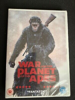 War For The Planet Off The Apes Dvd New & Sealed